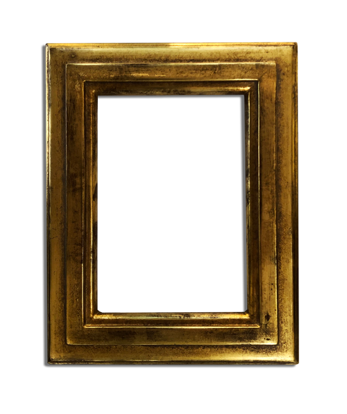 "4"" x 6"" - Photo Frame / Picture Frame Finished in Genuine 22K Gold"