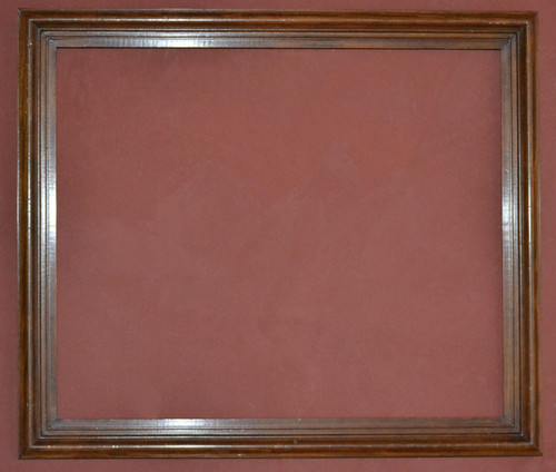 FMOO65  -   Antique Stain & Lacquered wood Frame & Clear mirror