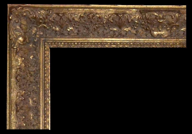 FM 651 - Gold Metal Leaf Gray Wash Tone