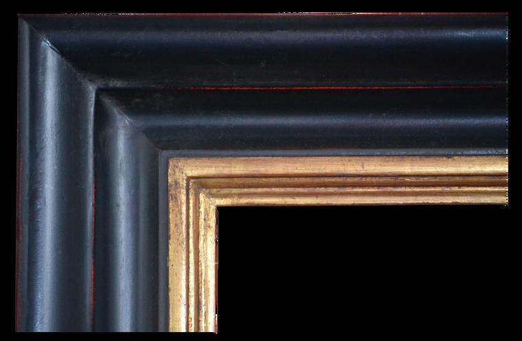 FM 577   22 Karat Genuine Gold leaf & Black Lacquer