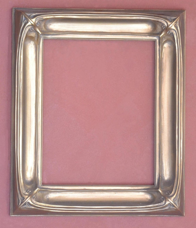 "C - 9008 -  Plein Air, Gold Metal Leaf  Moulding Width  2 7/8""  X  2"" Hight  Rabbet Size: 3/8""  Hight  x  5/16"" Width"