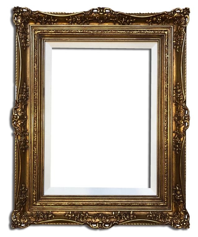"""A pair Of 13"""" x 18"""" Picture Frames Gilded In Genuine 22k Gold Leaf"""