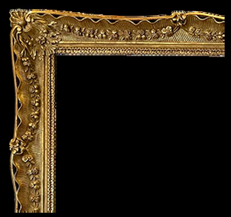 Ornate, 22 Karat Genuine Gold leaf