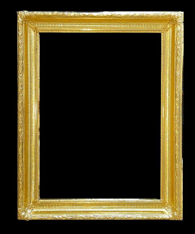 Restored Gold Frame
