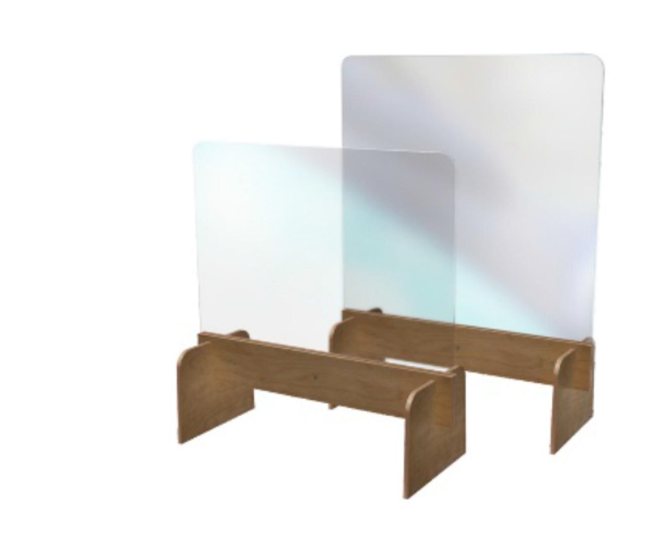 Wooden Counter Stand Medium | AZULWEAR