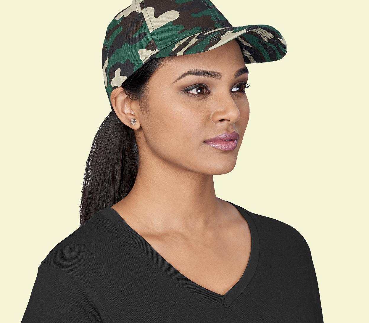 Camo Caps & Hats