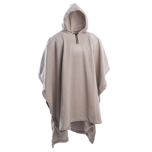 Fleece Ponchos with Hoodie