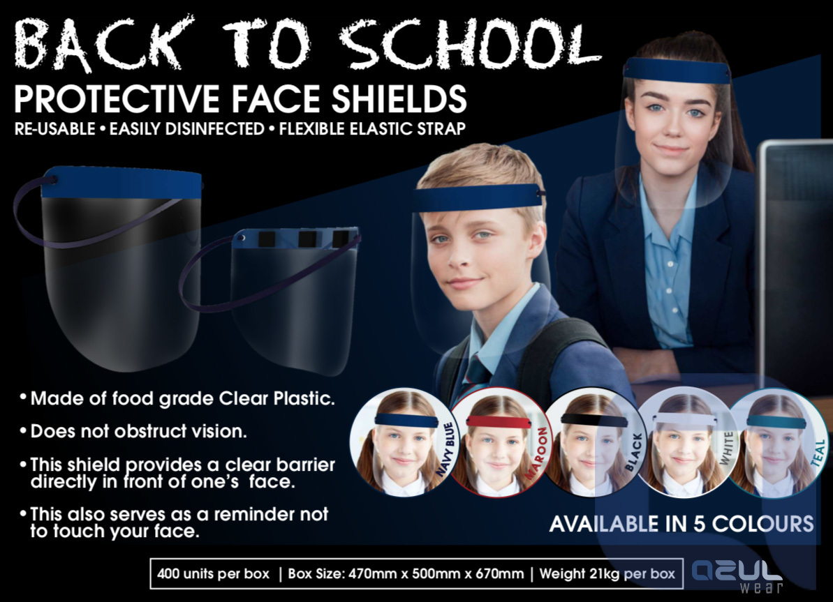 School Face Shields