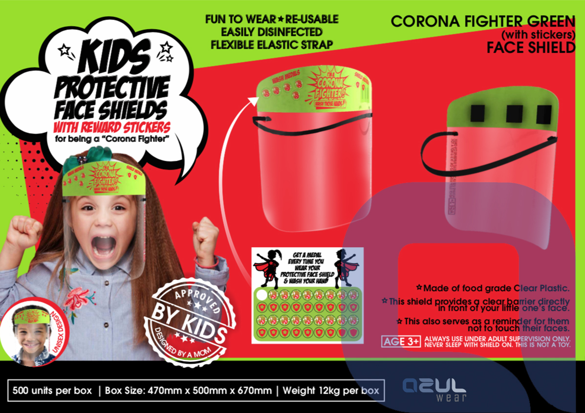 Promotional Kids Face Shields
