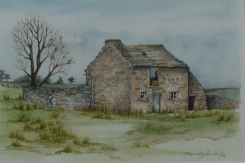 Watercolour by Mandy Jones 'Middelton Teesdale