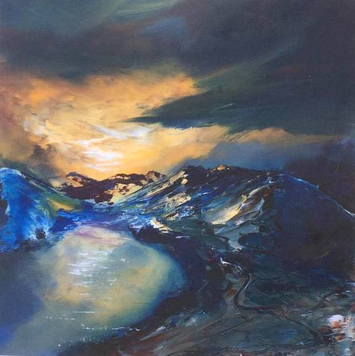 Night Fall, Ullswater by Trevor Craggs - Print