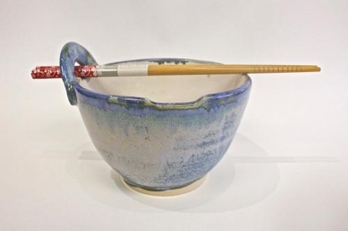 Noodle Bowl With Chopstick