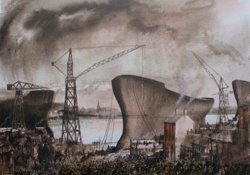 Ghosts of Wallsend by Ben Haslam - Sold
