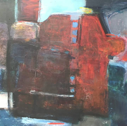 Uncatching by David Wilson Oil on  Panel Board