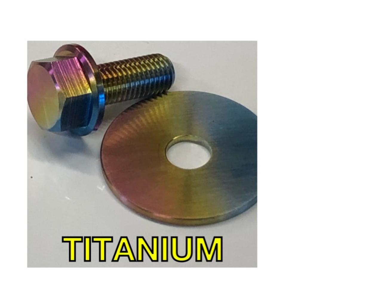 Titanium Predator 212 clutch Bolt
