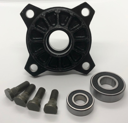 Trailmaster Front Hub With Studs and Bearings