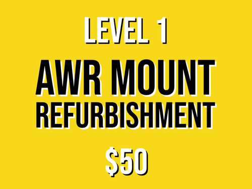 Level 1 Mount Refurbishment