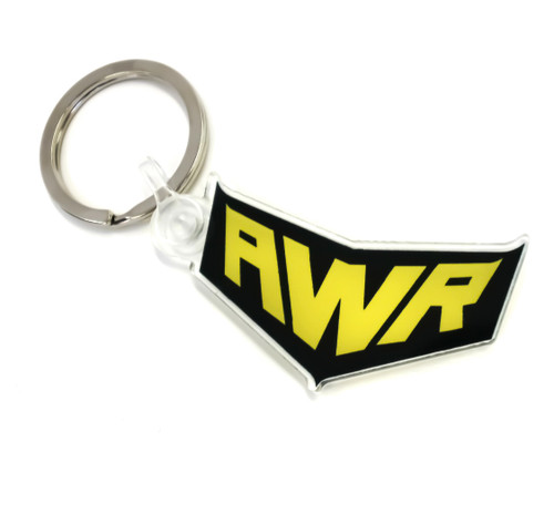 AWR acrylic key chain