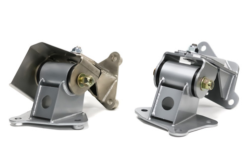 ND MX5 complete mount kit for an aftermarket exhaust header
