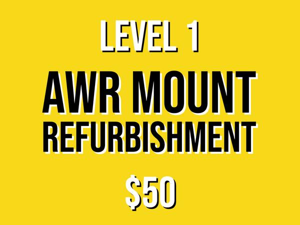 Level 1 Mount Refurbishment