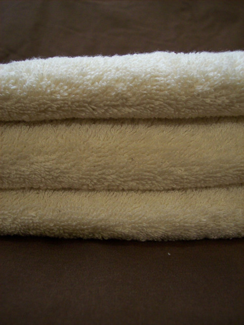 Organic Hemp and Cotton Terry Hand Towels (set of 3)
