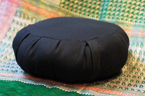 ZAFU - Hand-made wool or kapok-stuffed meditation cushion