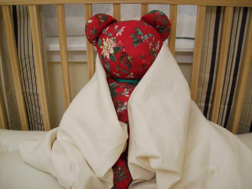 NEW Crib Sheet HEMP Deep Pocket Hemp Organic Cotton Natural Nursery Baby Bedding