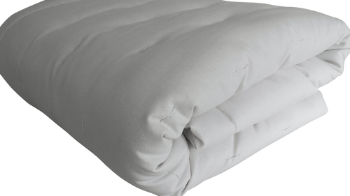 COMFORTER / DUVET - Thick luxurious & Warm - Eco Wool-Filled - Hemp & Organic Cotton-encased - Crib Twin Full Double Queen King