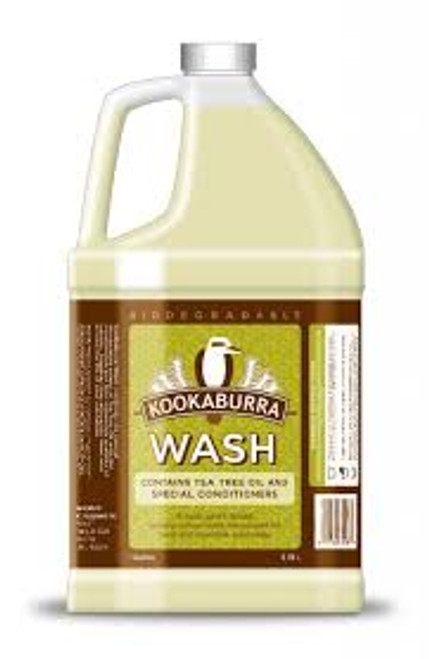 KOOKABURRA WOOL WASH 1 Gallon Natural soap safe for wool tea tree delicate silk