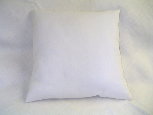 2 NEW ORGANIC THROW PILLOWS 16X16 Handmade ECO-Wool fill Hemp &Cotton USA insert