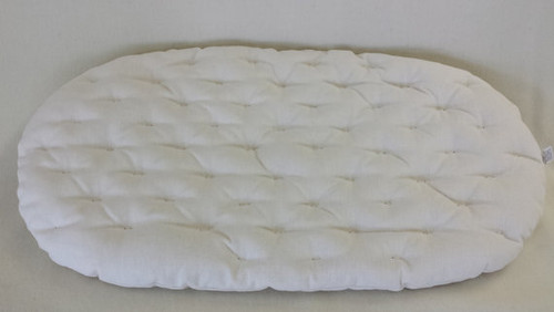 MOSES BASKET MATTRESS - Eco Wool - Hemp & Organic Cotton - Hypoallergenic