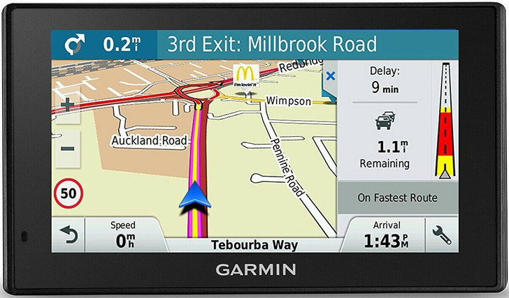 Garmin DriveSmart 70LMT-D GPS Sat Nav|Lifetime Full Europe Maps+Digital Traffic