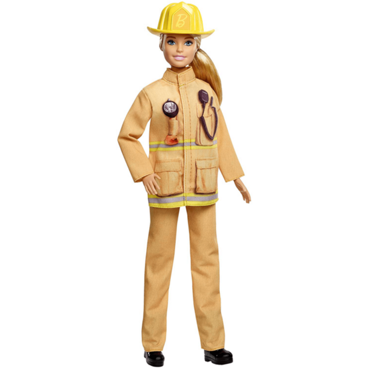Barbie 60th Anniversary Career Assortment│Doll Play Toy│Firefighter