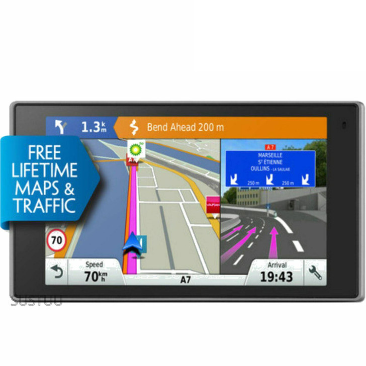 Garmin Driveluxe 50LMT-D GPS SatNav|Free Lifetime UK Europe Maps+Digital Traffic