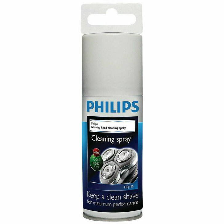 Philips Mens Electric Shavers Shaving Head Cleaning Lubrication Spray HQ110/02
