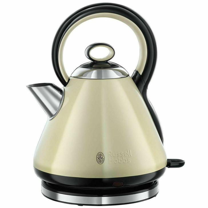 Russell Hobbs 21888 Legacy Quiet Boil Electric Kettle|3000 W|1.7 Litre|Cream|NEW