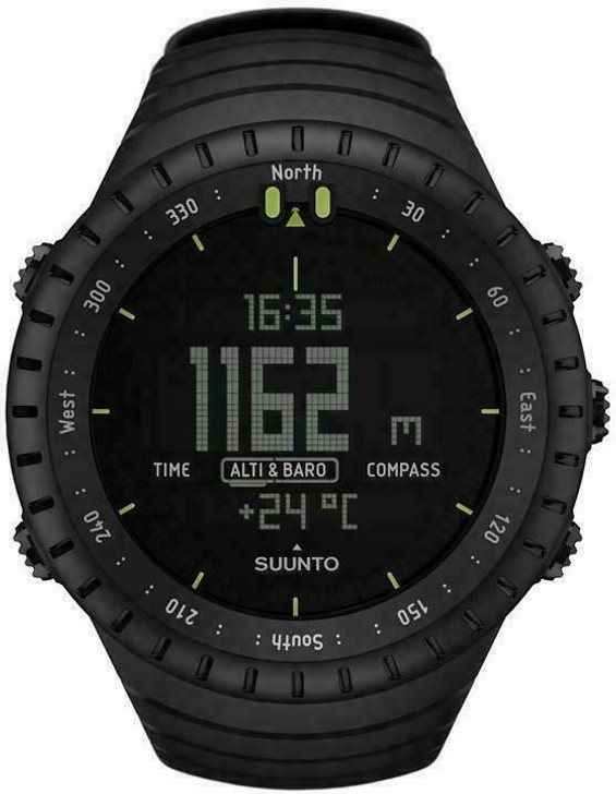 Suunto Core Outdoor Military Sports Watch|Altimeter|Barometer|Compass|All Black