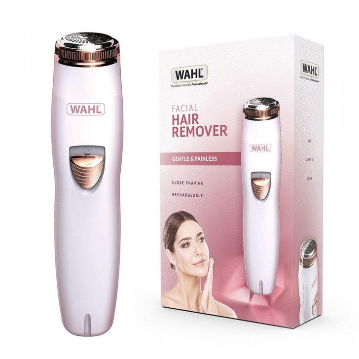 Wahl Compact Facial Cheeks Lips Chin Painless Ladies Hair Remover Epilator