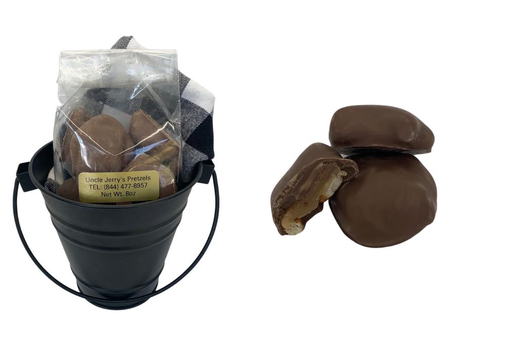Milk Chocolate Caramel Pretzel Bites