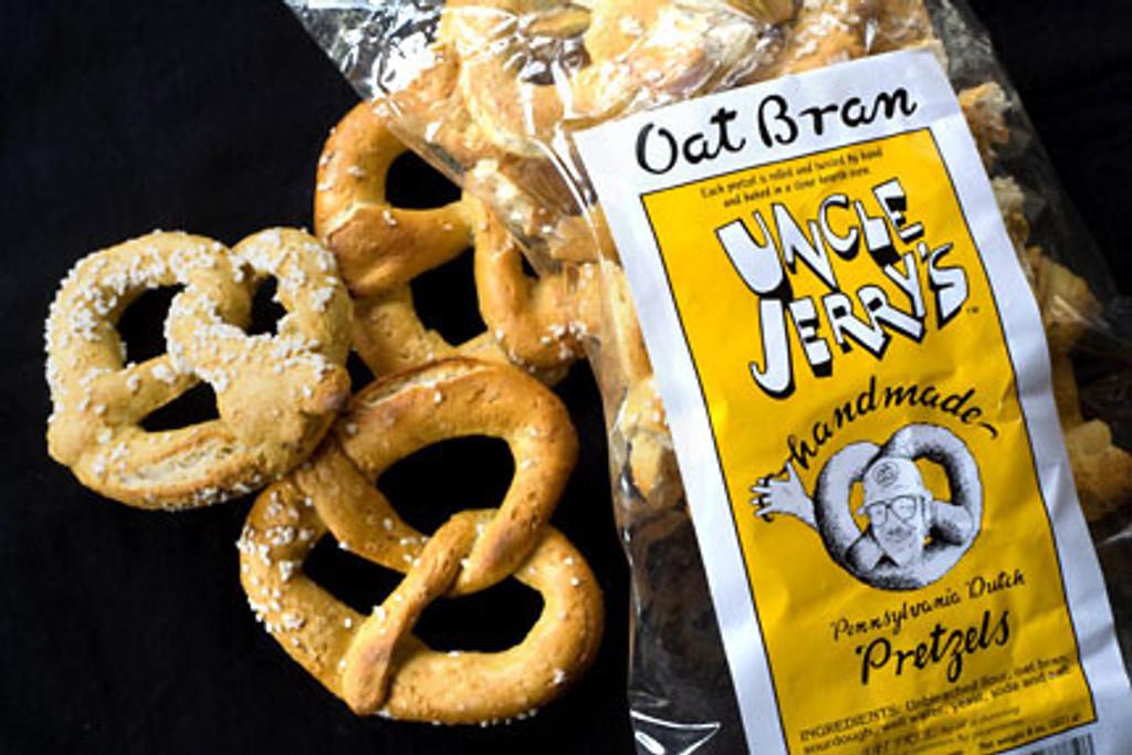 Uncle Jerry's Oat Bran Pretzels