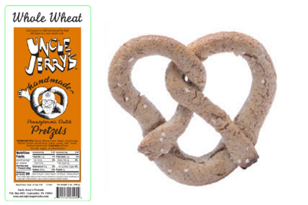 Whole Wheat Regular Salt Pretzel 1