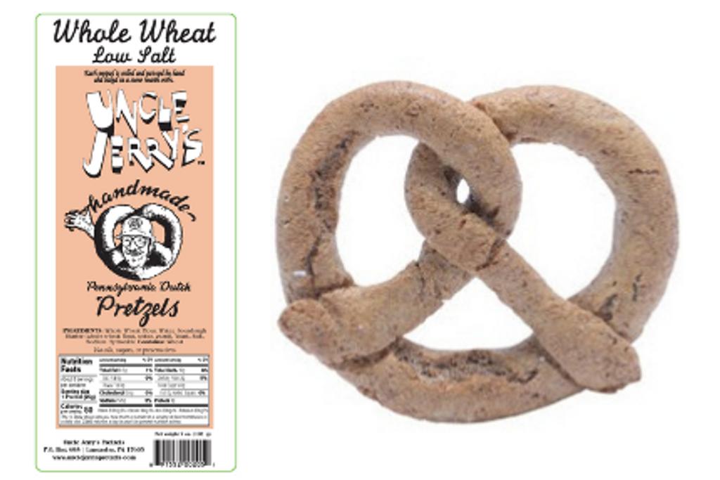 Whole Wheat Low Salt Pretzel 1