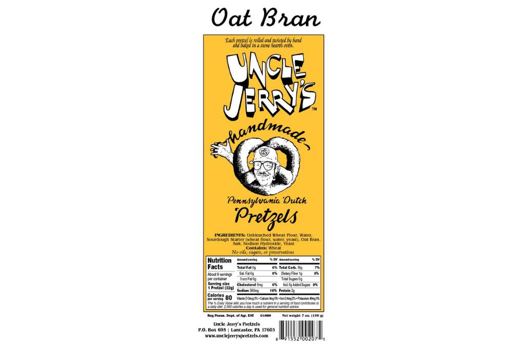 Oat Bran Brokes Packaging