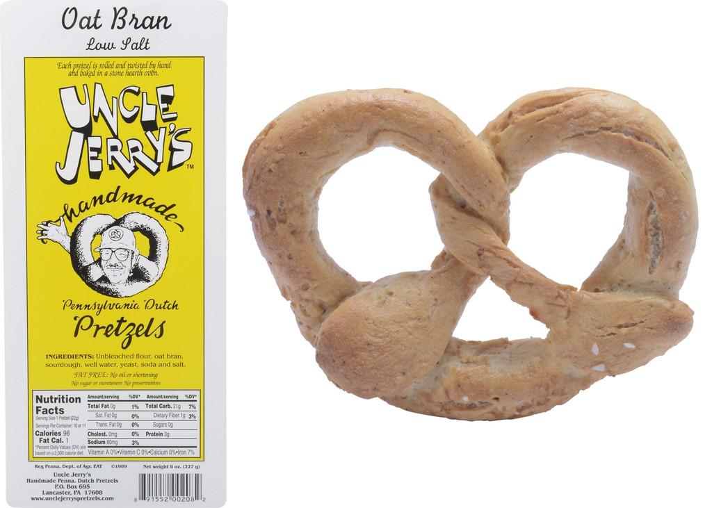 Oat Bran Low Salt BROKES 6 7oz bags