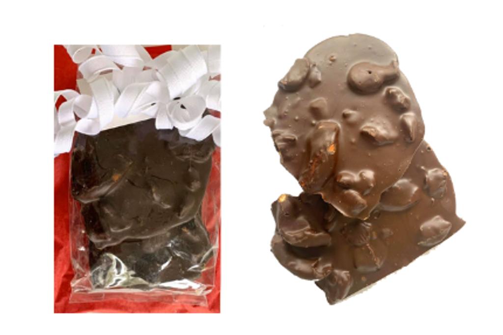Dark Chocolate Pretzel Bark