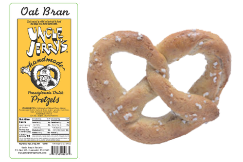 Oat Bran Regular Salt, 7oz Bags