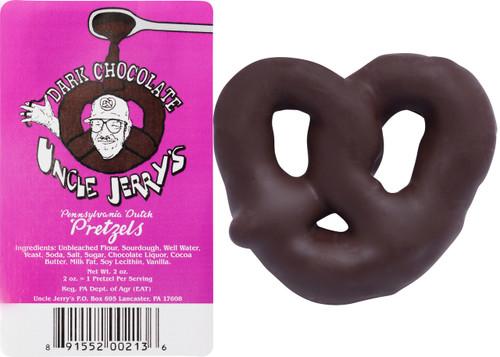 Dark Chocolate Covered Pretzel