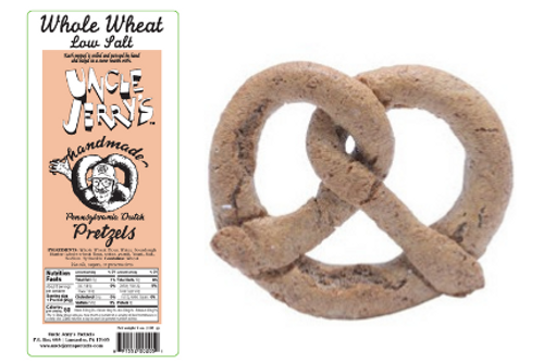 Whole Wheat Low Salt, 7oz Bags