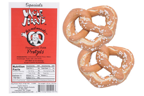 Specials Regular Salt 2-Pretzel Snack Packs