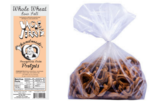 Whole Wheat Low Salt, 3lb Bag